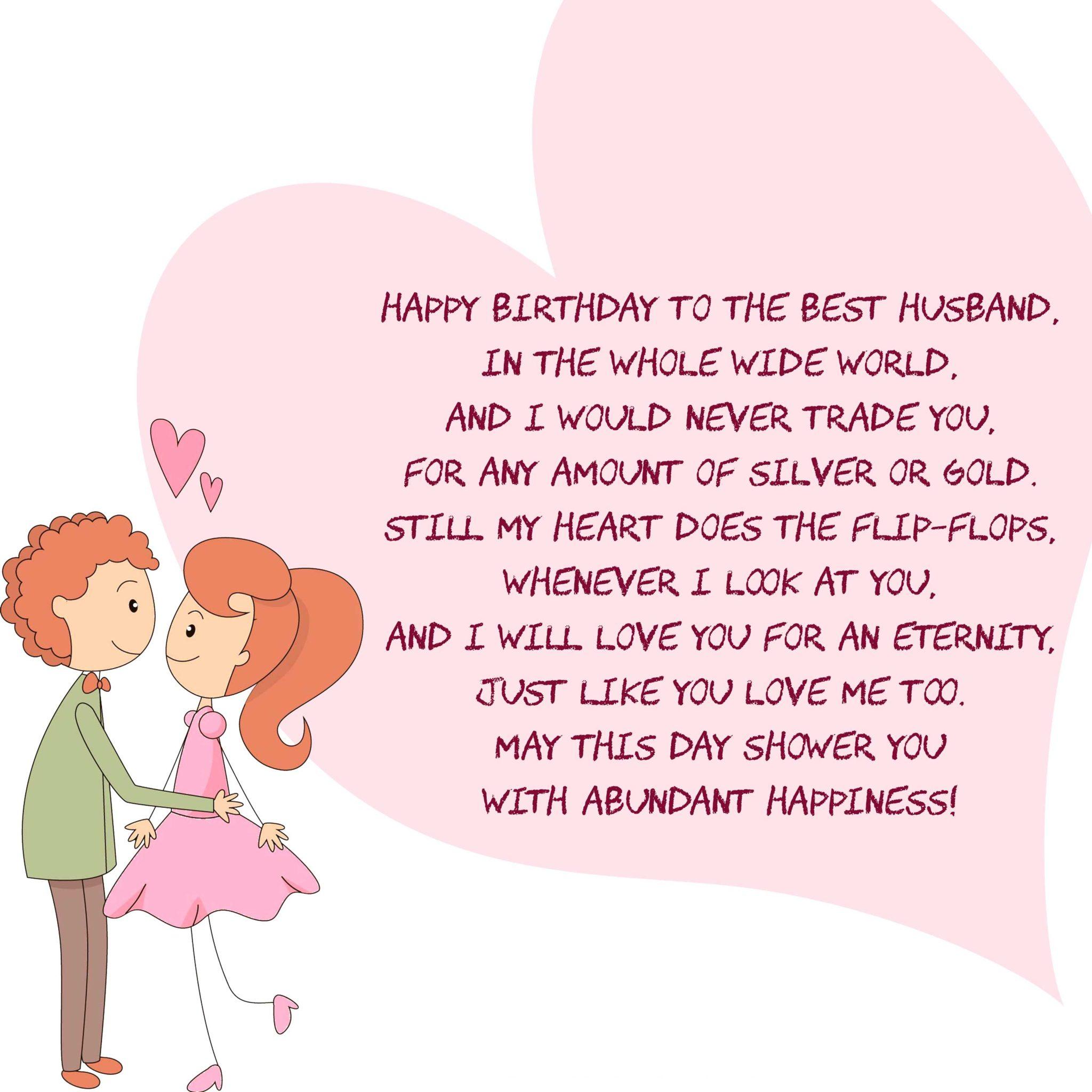 Happy birthday poems for him or her boyfriend girlfriend