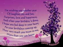Happy Birthday card messages for friends