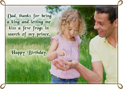 Birthday Wishes For Dad Images And