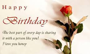 Birthday love quotes and sayings