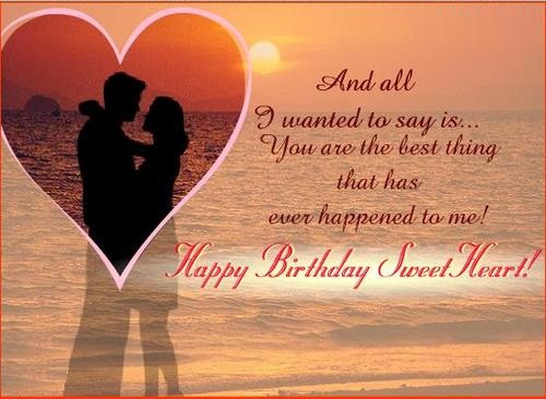 Birthday love quotes for her or him