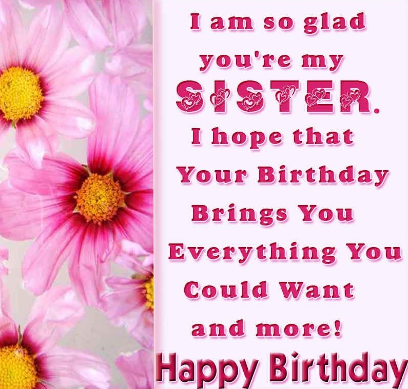 Birthday wishes for sister-1