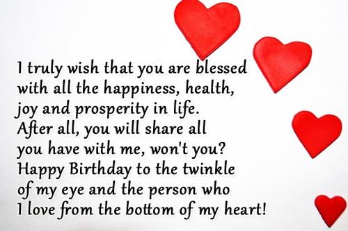Sweet Birthday Wishes For Boyfriend ~ Happy birthday images for boyfriend wishes and messages