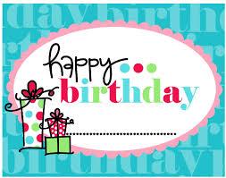 printable birthday cards free