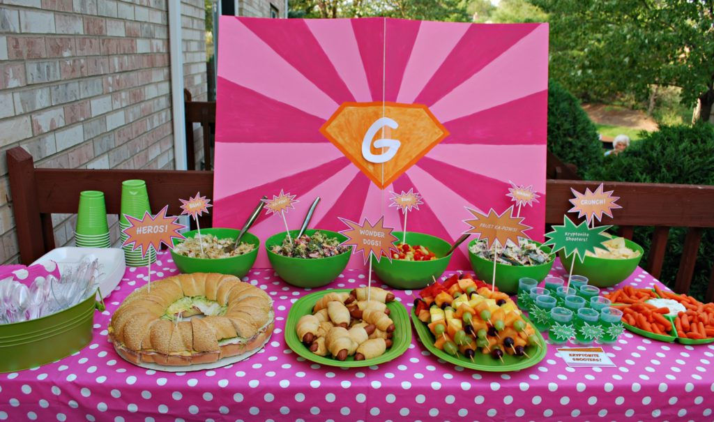 Birthday party food ideas - birthday party ideas for boys