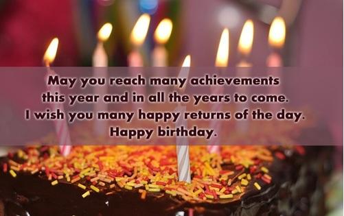 Free Birthday Sayings