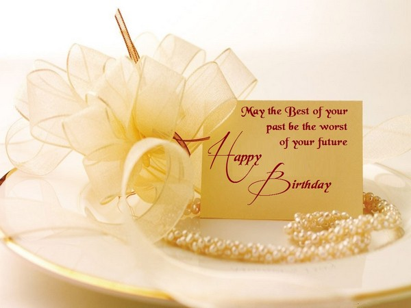 Lovely birthday greeting