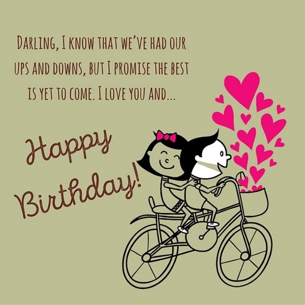 Birthday Wishes To Girlfriend - Images, Messages For ...