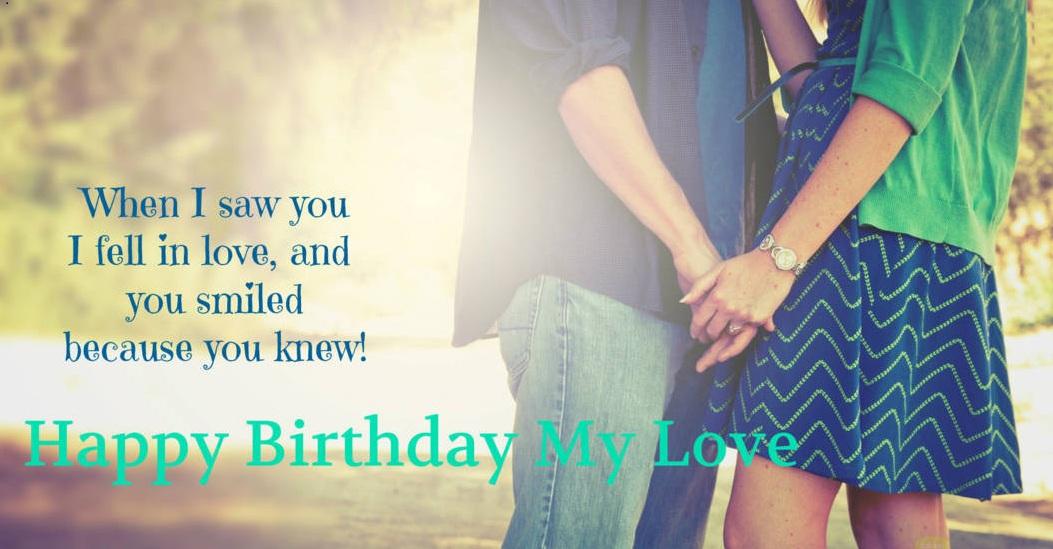 Birthday messages to girlfriend