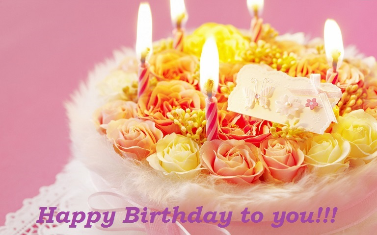 Birthday Wishes Images With Cake And Flowers : Happy Birthday Wishes, Images, Quotes, Messages, Cards and ...