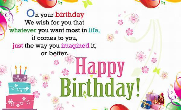 Happy Birthday Cards images, wishes and wallpaper