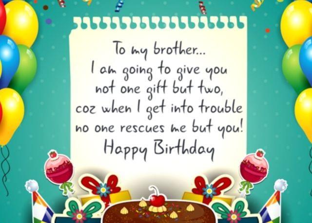 Happy Birthday Brother quotes - Happy birthday bro
