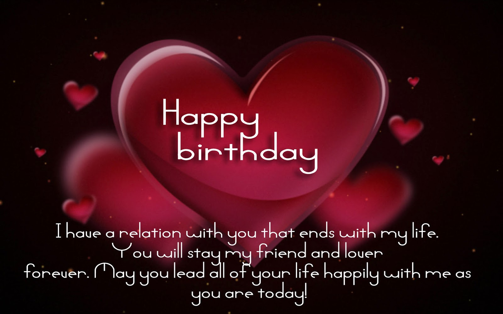 Happy Birthday love quotes, images, poems, messages