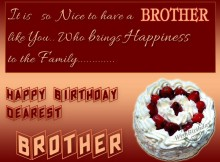 Happy Birthday-brother images