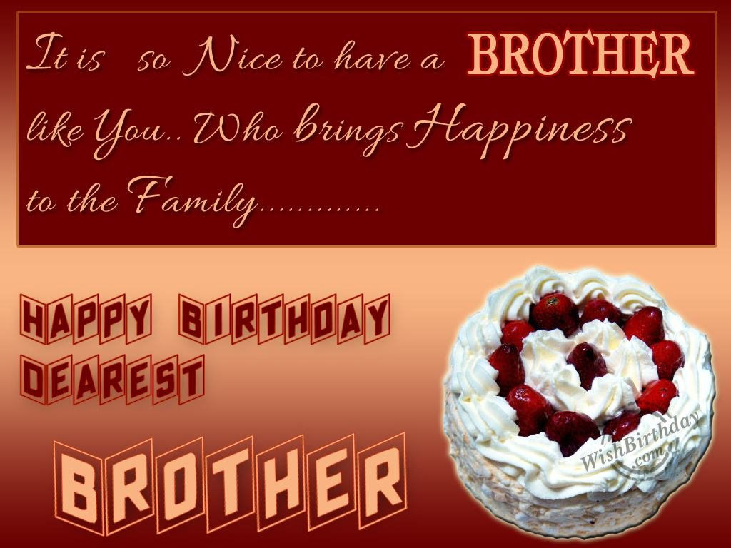 Happy birthday brother images birthday images messages pictures happy birthday brother images kristyandbryce Image collections