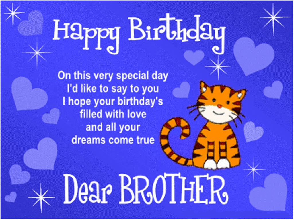 Happy Birthday Brother Quotes Happy Birthday Bro