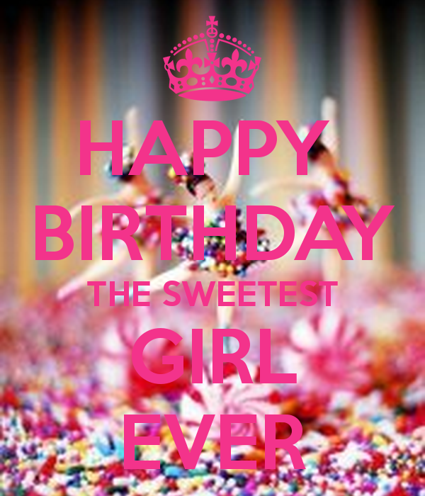 Happy Birthday Girl - Birthday wishes for girls, images and messages