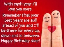 Happy Birthday messages for girlfriend with pictures