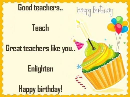 Happy birthday wishes to Teacher images