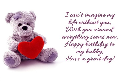 Husband Birthday Quotes Wishes And Messages I Wish You A
