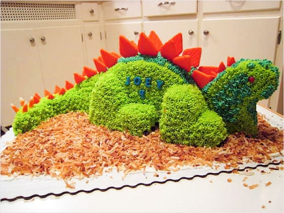 kids-cake-ideas-birthday-coolest-dino-cakes