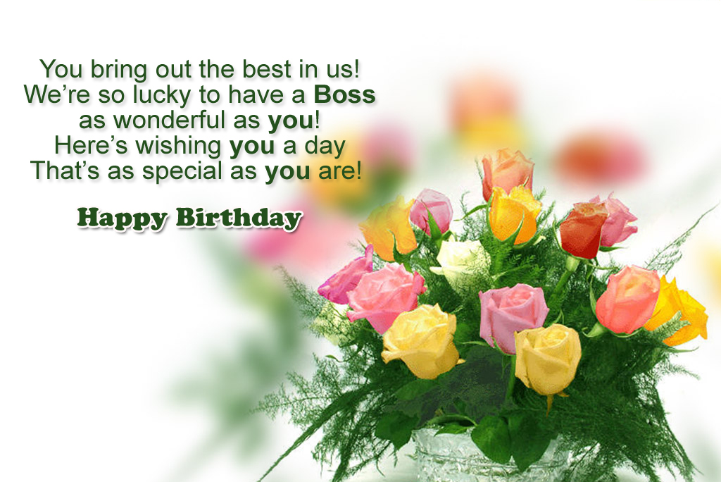 Happy Birthday Boss Quotes Wishes And Messages