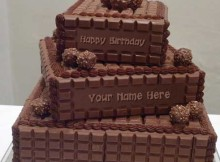 Happy_birthday-cake_name_chocoloate cake