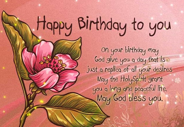 Christian birthday wishes messages greetings and images christian birthday cards happy birthday religious images bookmarktalkfo Choice Image