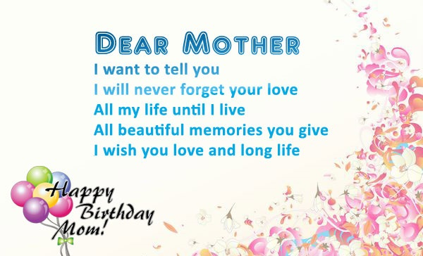 Birthday Wishes for Mother -images-pictures-messages