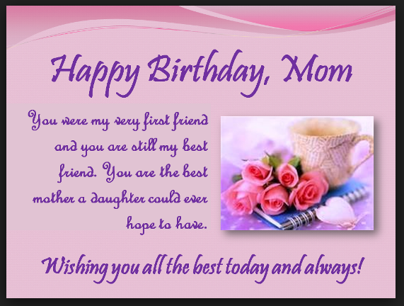 birthday wishes for mom   mom birthday wishes images
