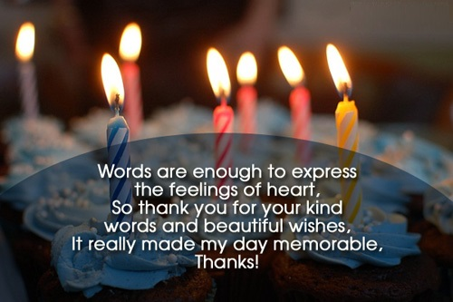Thanks For Birthday Wishes Quotes Messages And Images Happy Birthday Wishes Thank You