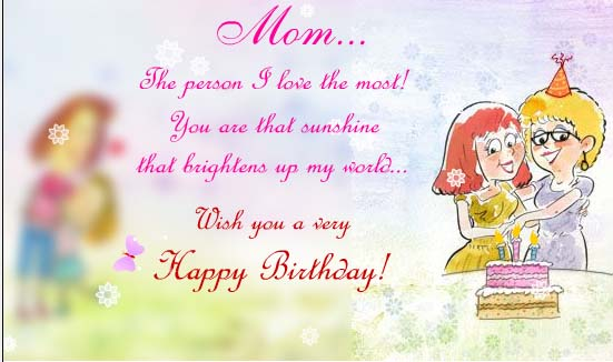 Birthday Card For Mom Images