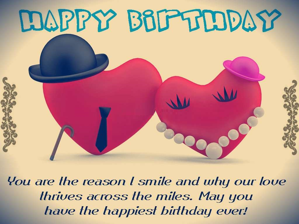 Happy Birthday wishes for boyfriend - Boyfriend birthday images