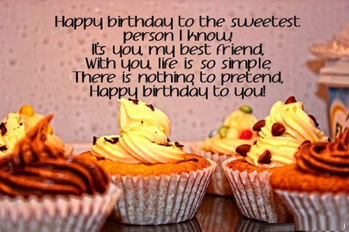 Best friend Happy birthday wishes