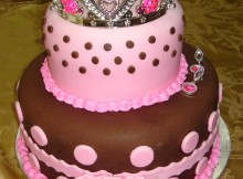 princess birthday cake for girl