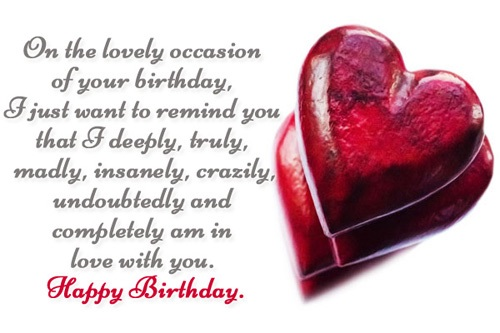 birthday wishes messages for girlfriend