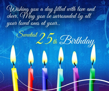 25th-birthday-card-wishes-messages