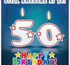 50th Birthday wishes