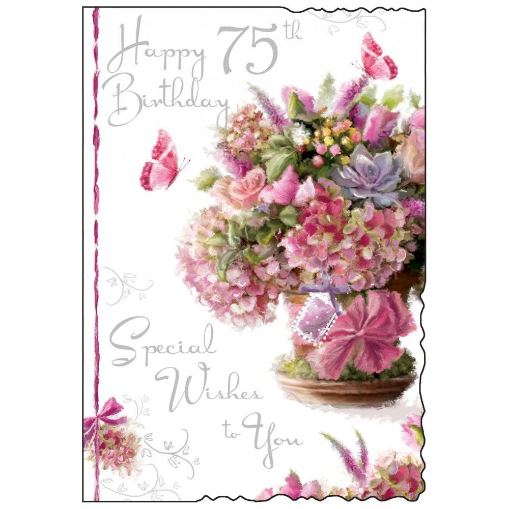 75th birthday cards wishes quotes