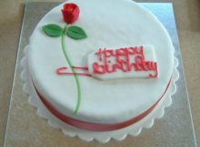 Happy Birthday cake for boyfriend images