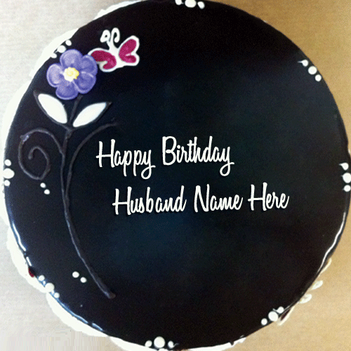 Happy Bday Hubby Cake Images
