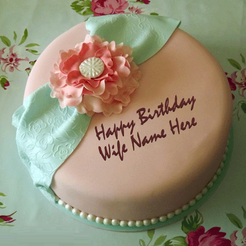 Happy Birthday cake for wife images, pictures and wallpapers