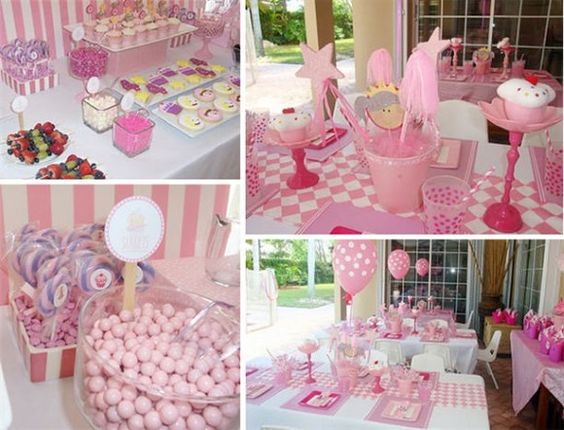 Pink Birthday Party For Girls - Birthday party ideas for Girls