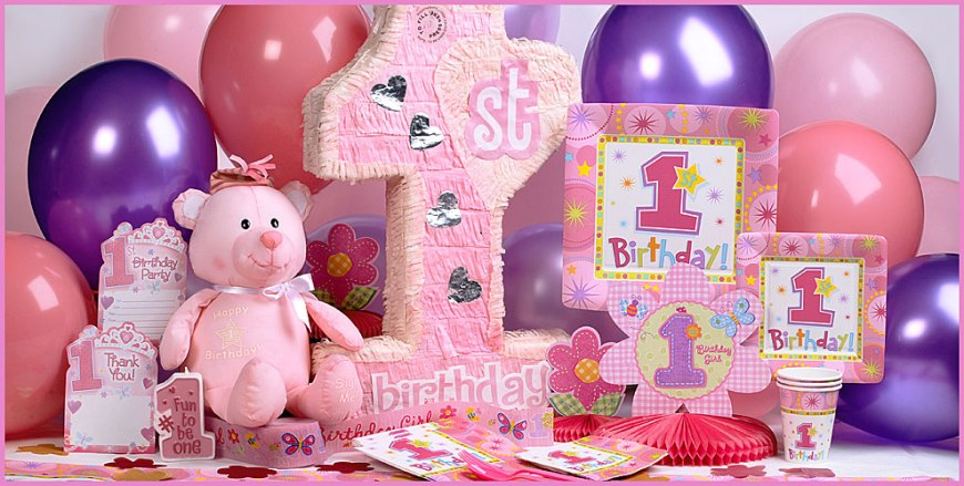 First birthday Party ideas for kids - 1st birthday party ideas for girls