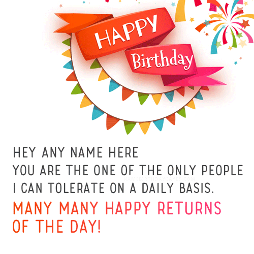 Free Birthday Wishes