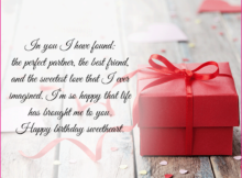 Birthday quotes to girlfriend